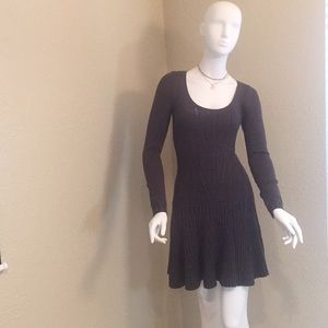 MODA International Sweater Dress, Warm Gray